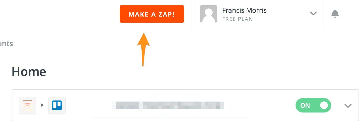 Making a Zap