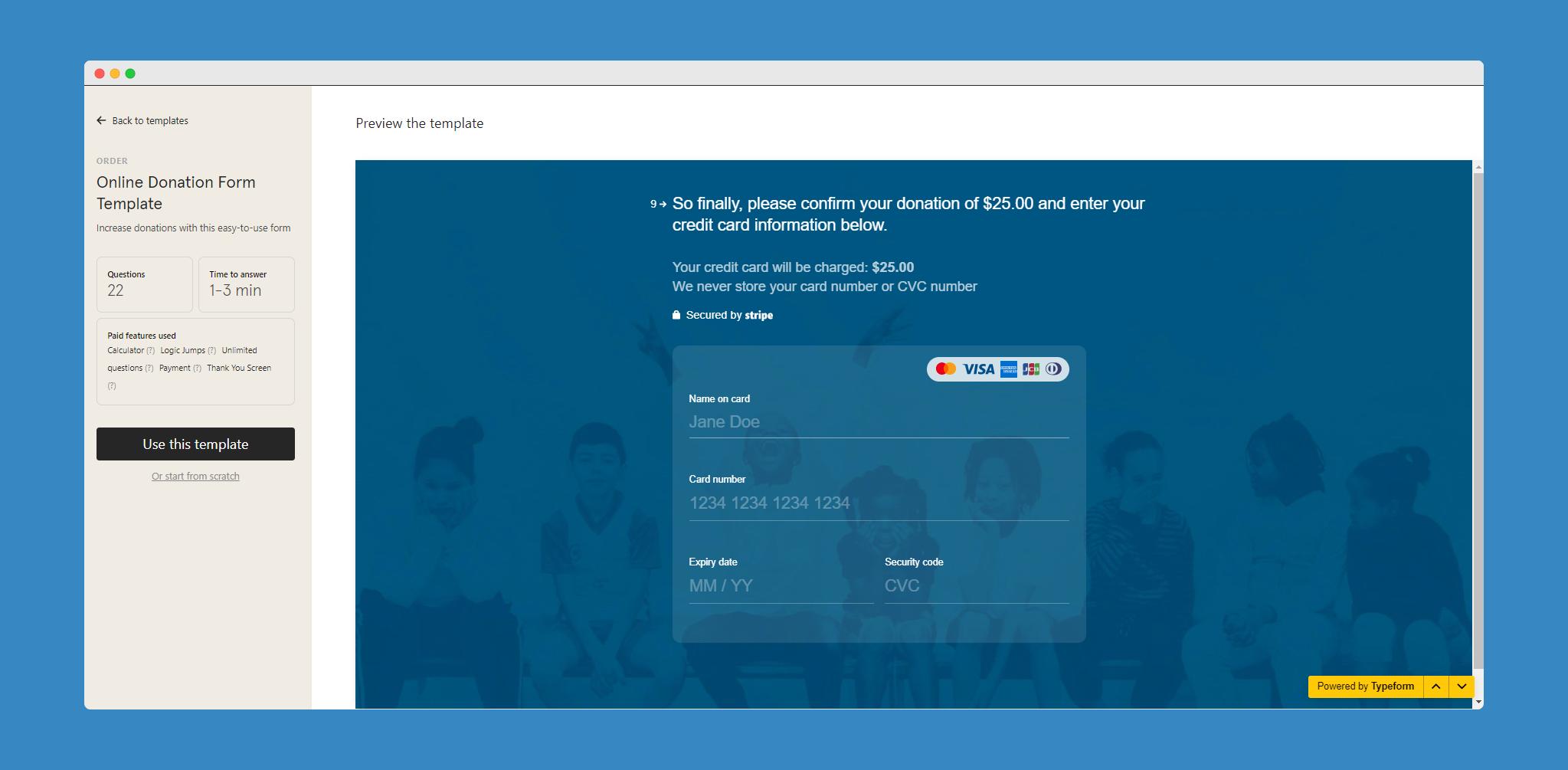 Typeform-payment